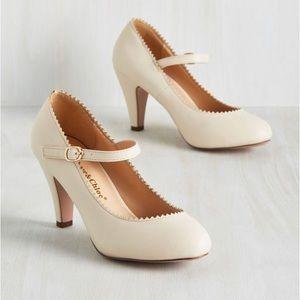 Modcloth nude heels